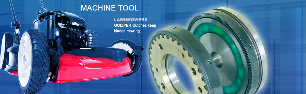 Machine Tools - Lawnmowers - Goizper clutches keep blades mowing
