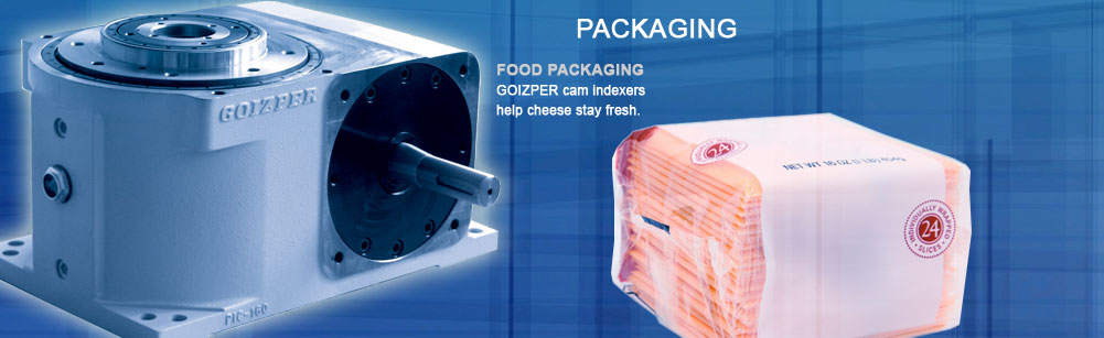 Packaging - Food Packaging - Goizper cam indexers help cheese stay fresh