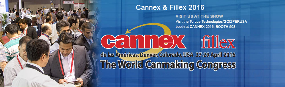 VISIT US AT CANNEX 2016, BOOTH 508